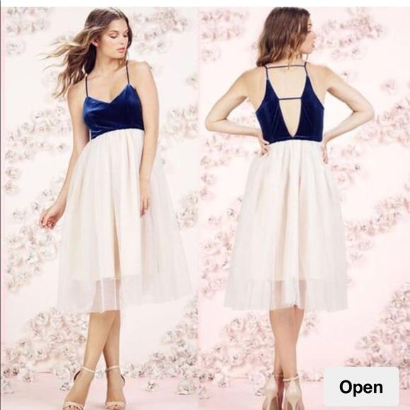 LC Lauren Conrad Dresses & Skirts - LC Lauren Conrad Runway Velvet and Tulle Dress